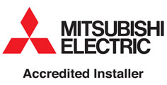 mitsubishi electric accredited installer for air conditioning and ventilation systems