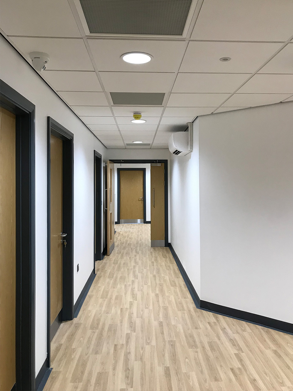 medical centre fit out and refurbishment including hygienic materials for infection prevention