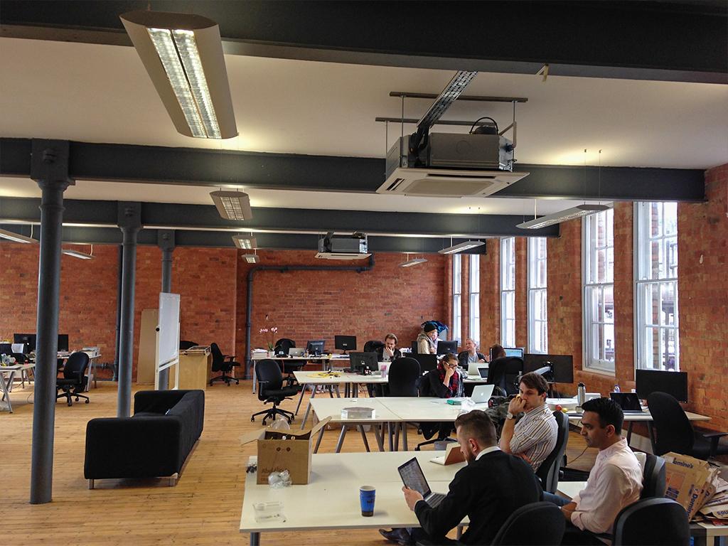 unidays office renovation Nottingham
